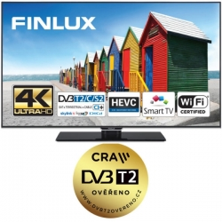 Finlux TV 50FUB8060 - UHD SAT/ T2 SMART WIFI
