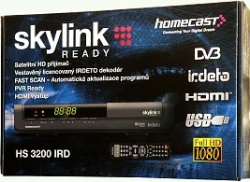 Homecast HS3200 IRD, Skylink Ready, HD SAT, USB