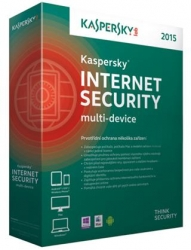 Kaspersky Internet Security MD (multi-device) 2015 3 lic. 1 rok