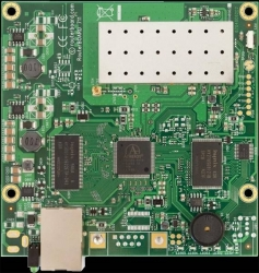 RouterBOARD RB711-5Hn (MMCX), wifi 5GHz 802.11a/n, Atheros AR7241, 400MHz, 32MB, RouterOS Level3, 1xLAN