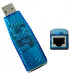 USB 2.0 - LAN RJ45, adaptér USB/Ethernet