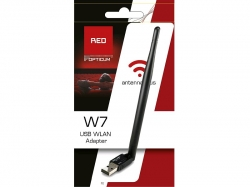 Wi-Fi USB adaptér Dongle 2,4GHz LB-LINK / Opticum W7 s anténou